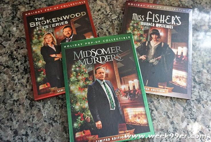 Acorn TV Mystery Holiday Pop Up Review