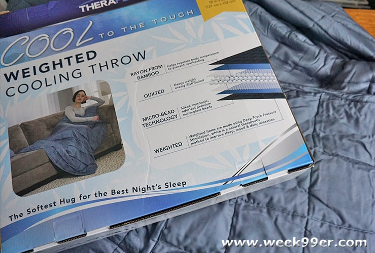 Therapedic Cool Weighted Blanket Review