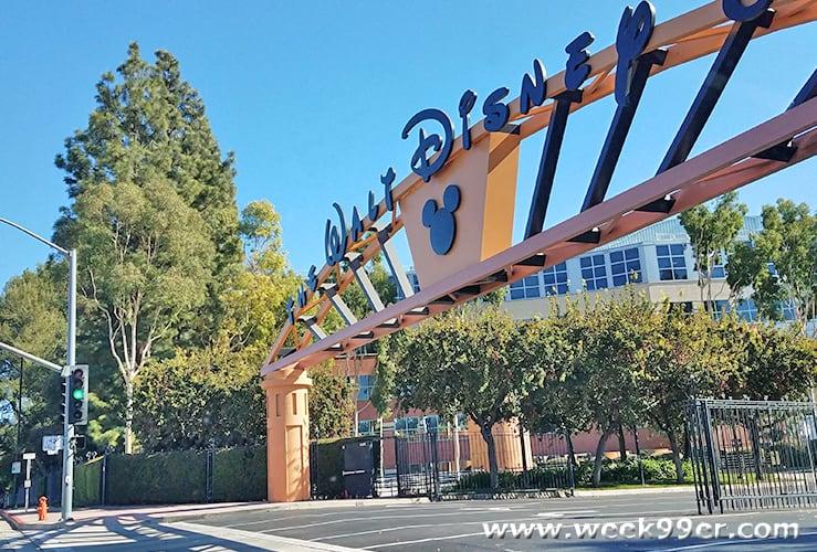 Disney Lot Tour