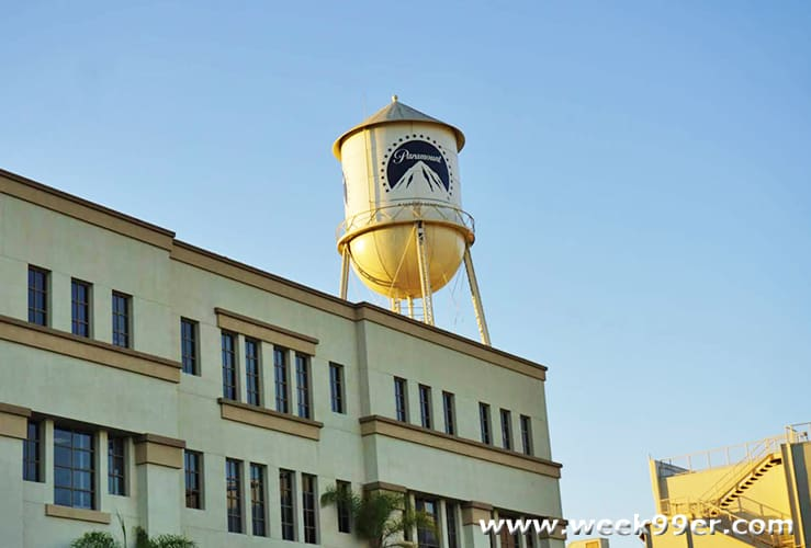 Paramount Lot Tour