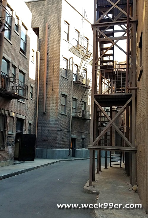 Spider-man Movie Upside Down Kiss Location