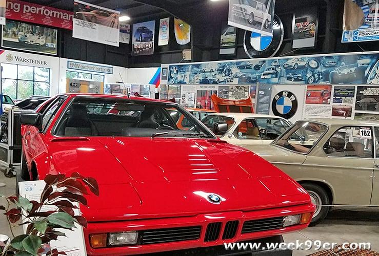 BMW Car Club Museum Greenville South Carolina Review