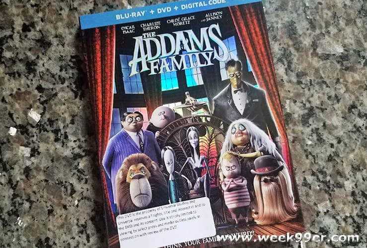 The Addams Family Animated 2019 At Home Release