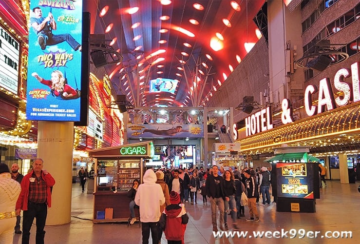 The Fremont Street Experience Vegas Review