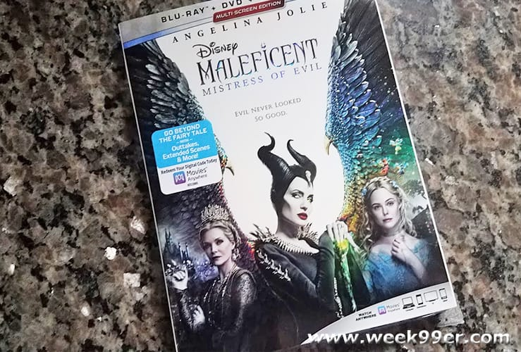Maleficent Mistress of Evil at Home Release