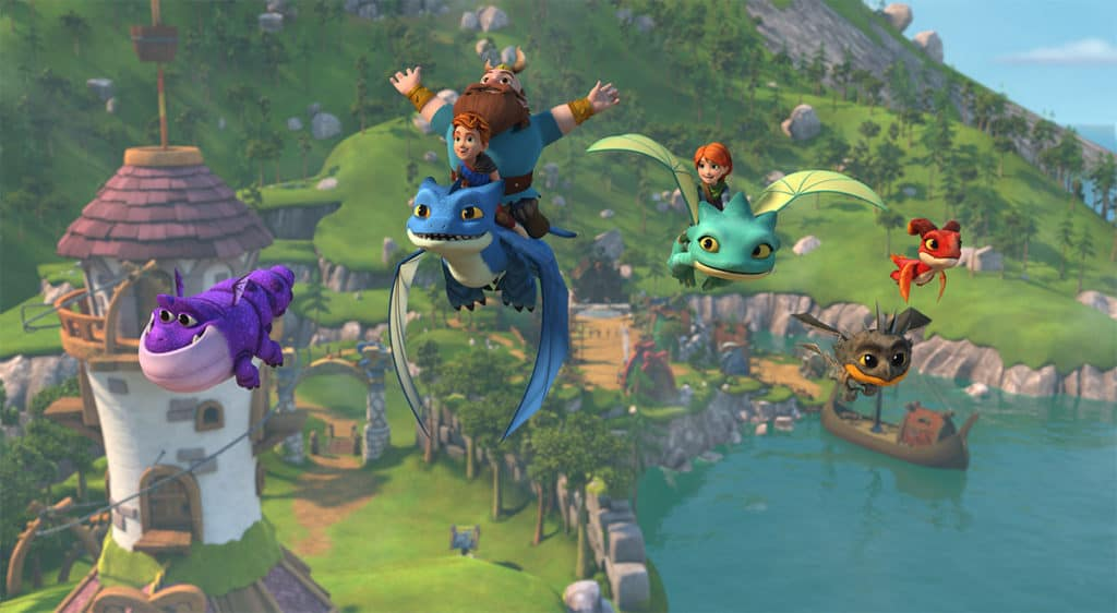 Get Ready to Take Flight with Season Two of DreamWorks Dragons Rescue Riders