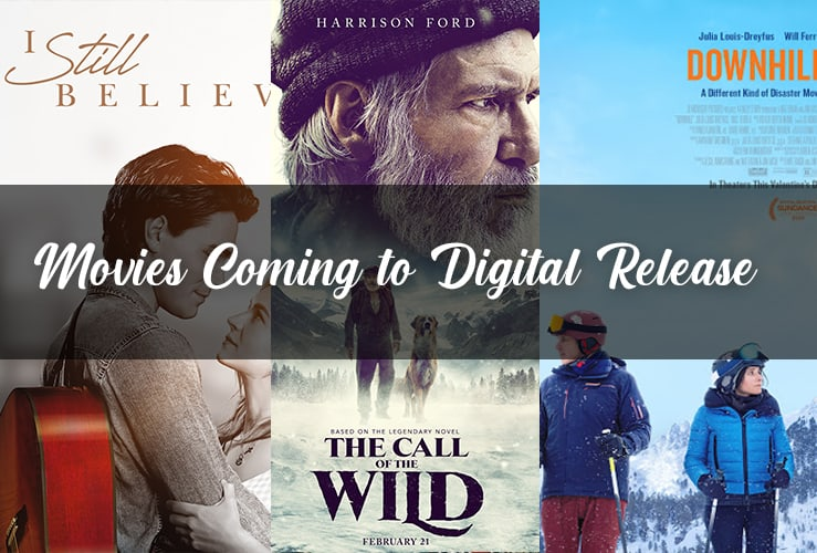 Digital Movie Releases for March 27th