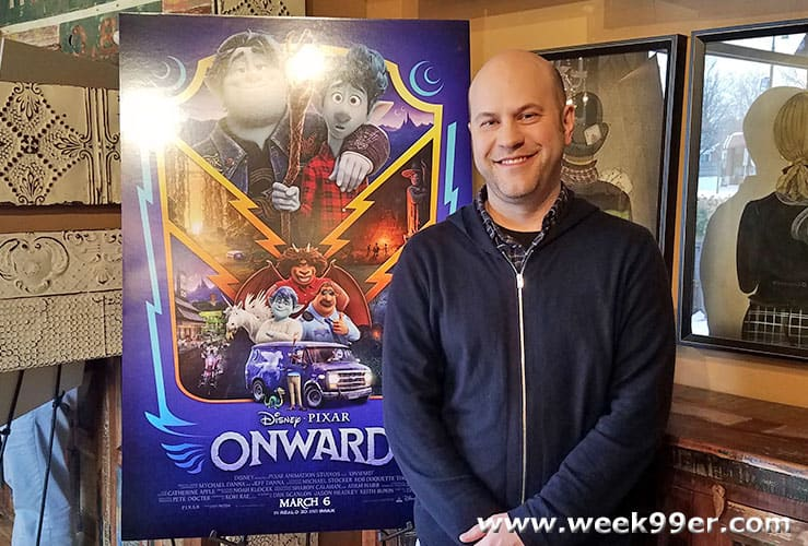 Dan Scanlon Onward Interview