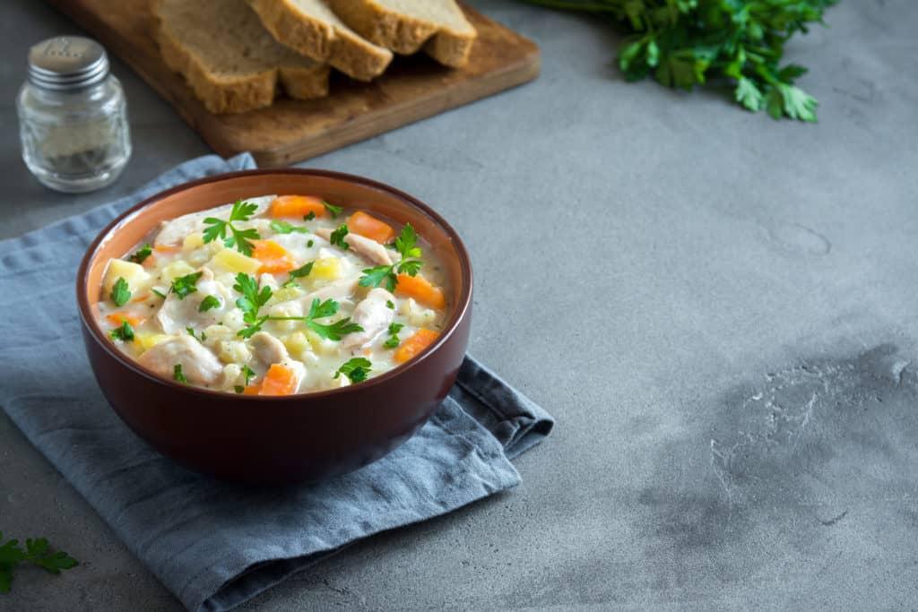 Healthy Slow Cooker Chicken Stew