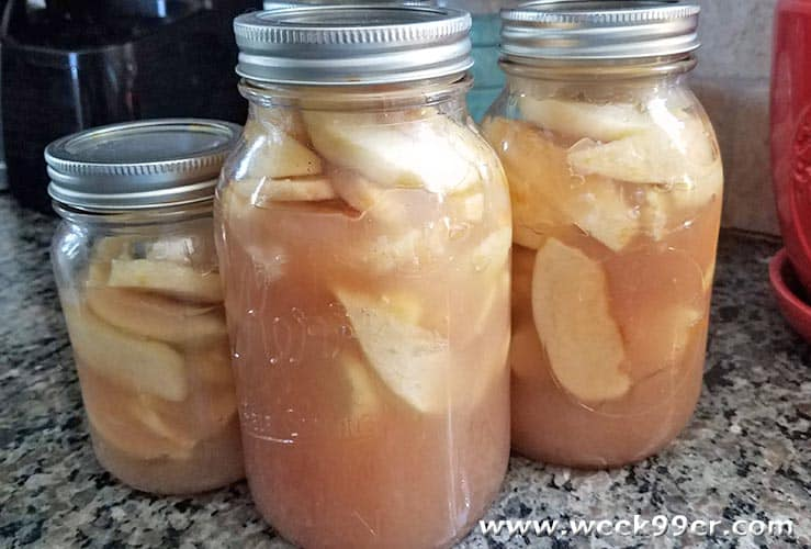 How to make apple pie filling and can it
