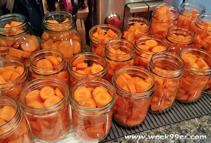 how to can carrots at home