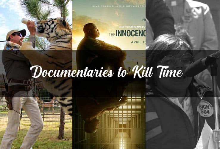 Documentaries to kill time