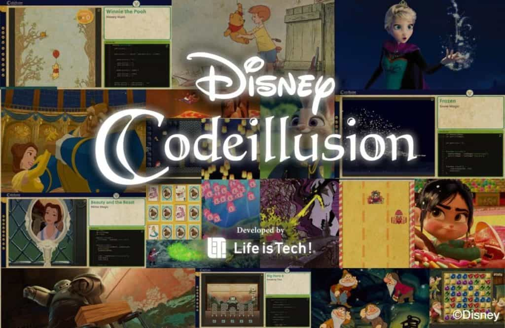 Disney Codeillusion Offers Free Coding Courses