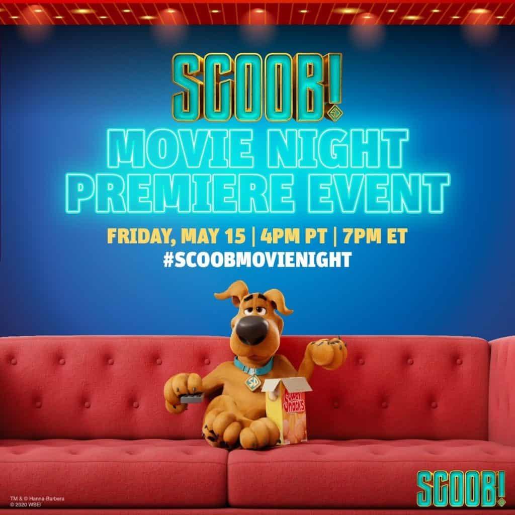 Scoob! Movie Night Premiere Event is Tonight!