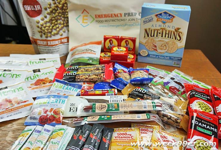 gluten free emergency prep kit