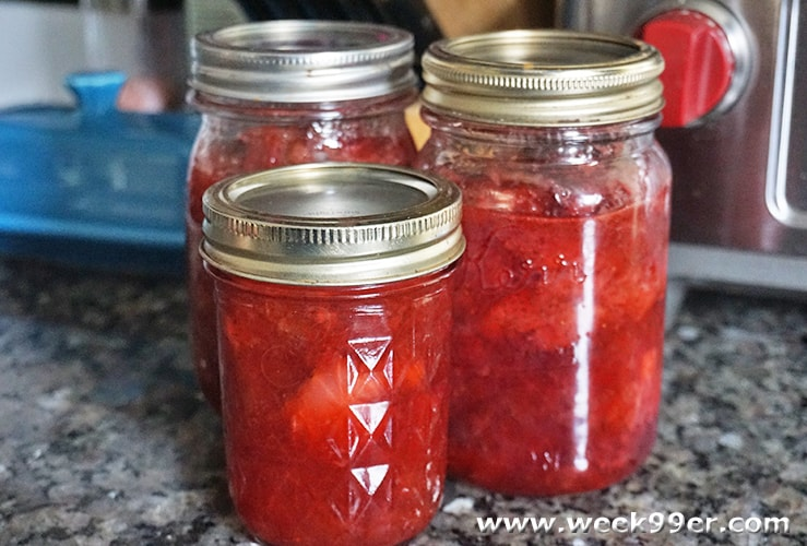 Easy Strawberry Rhubarb Jam Recipe