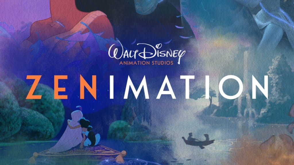 Disney Magic Comes to Your Home in Zenimation on Disney+