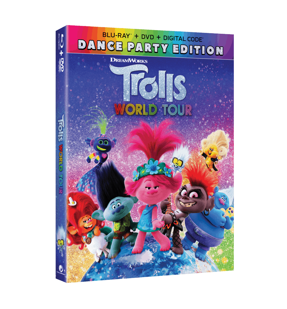 Trolls World Tour BluRay Giveaway