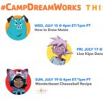 Kipo and the Age of Wonderbeasts Take Over Camp DreamWorks!