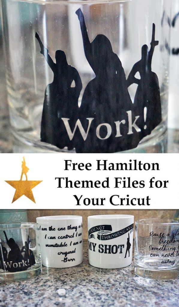 Free Hamilton Cricut Files
