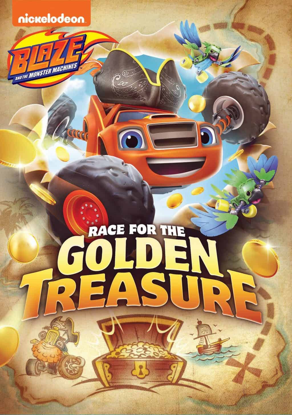 Blaze Race for the Golden Treasure Giveaway