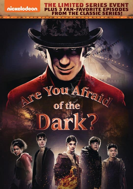 Are you Afraid of the Dark DVD Giveaway