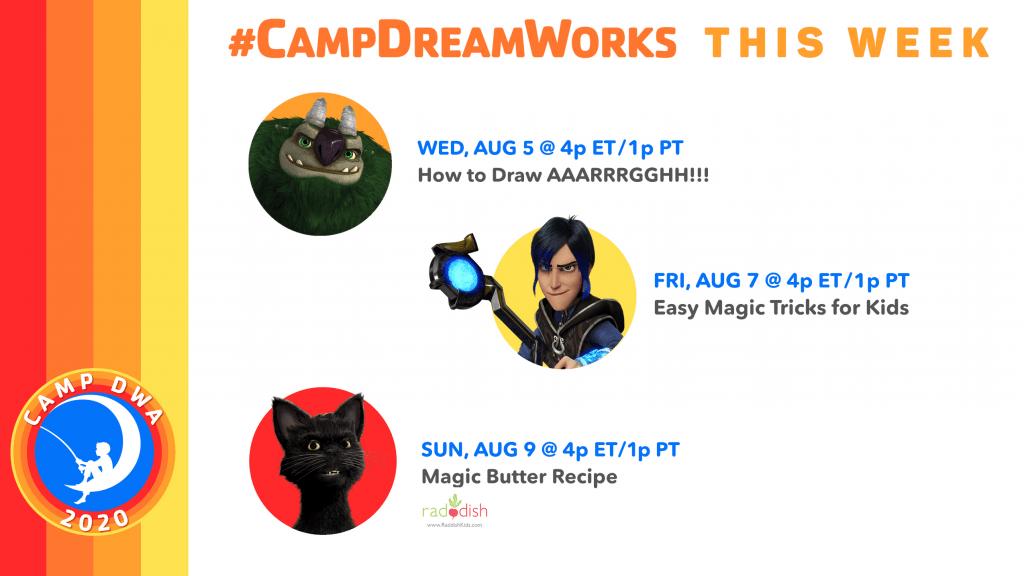 Camp DreamWorks Week 7