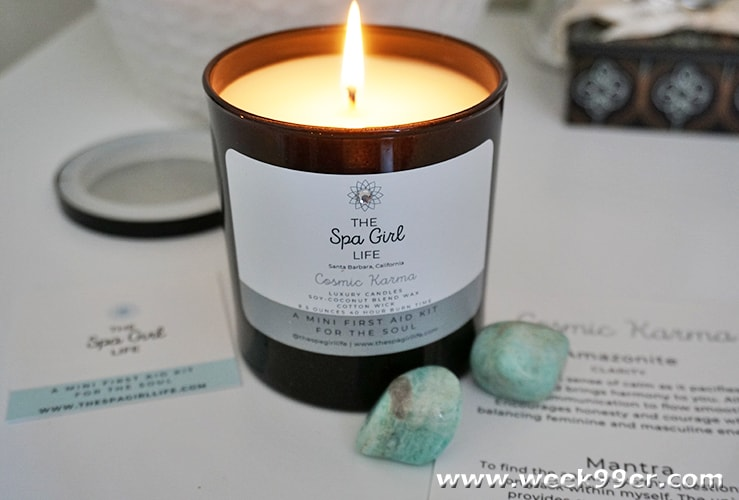 The Spa Girl Life Candle Review