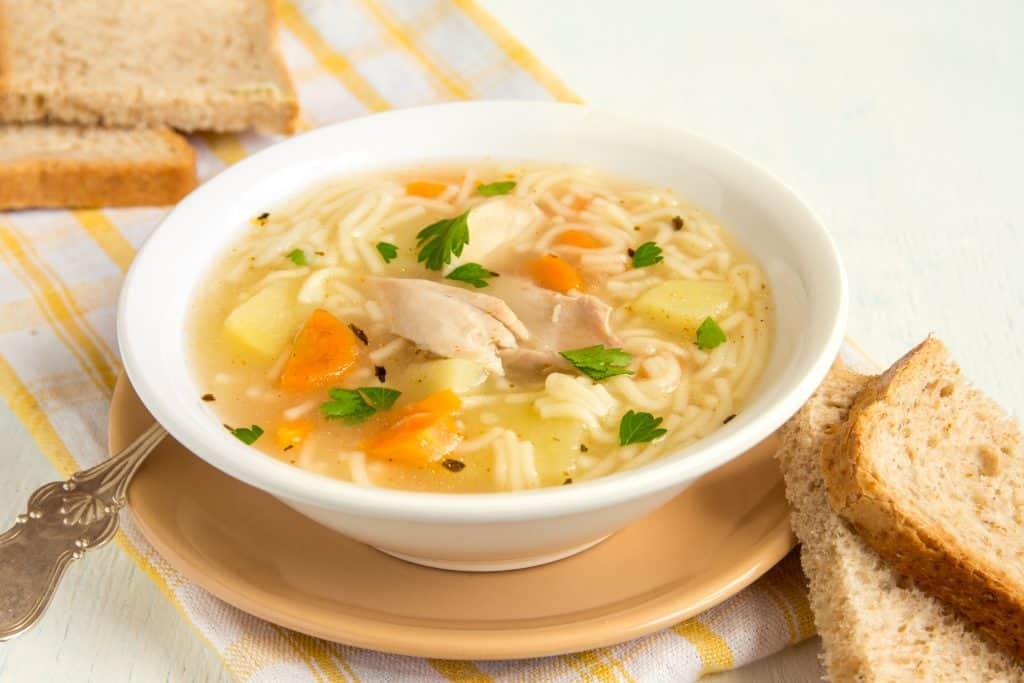 The Best Comfort Foods to Eat When Sick