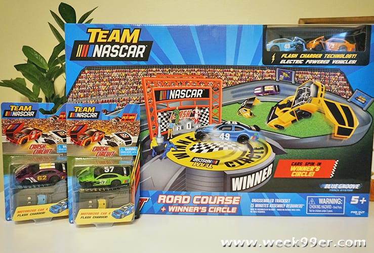 Team Nascar Crash Circuit Road Course and Winner's Circle Review