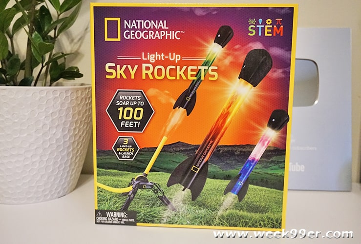 National Geographic Sky Rockets Review