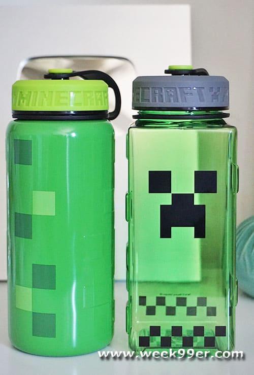 Minecraft Water Bottles