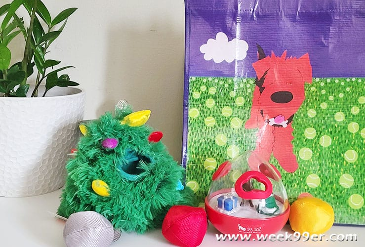 Mutttropolis Christmas Toys for Dogs