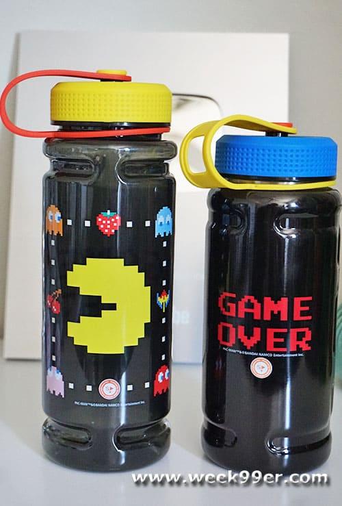Pacman Water bottles