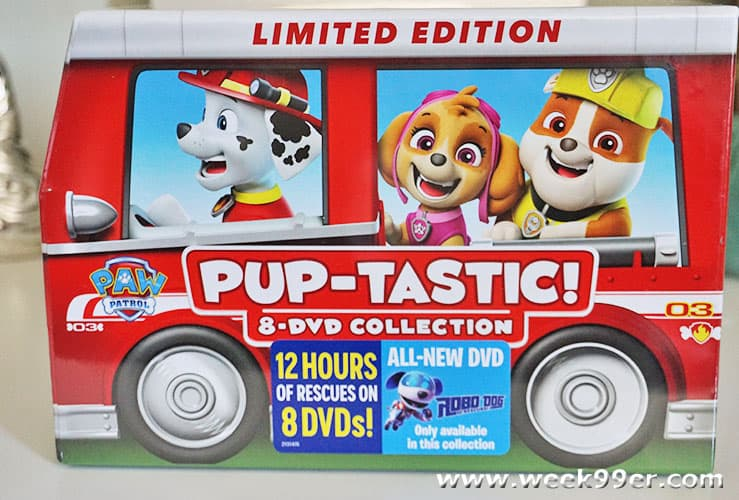 Paw Patrol Pup-Tastic DVD Collection Review