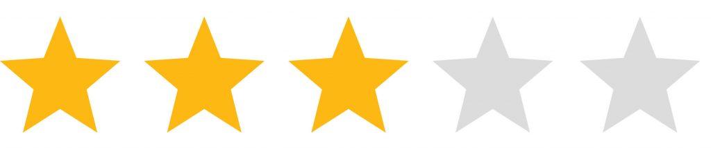 Three Stars Review