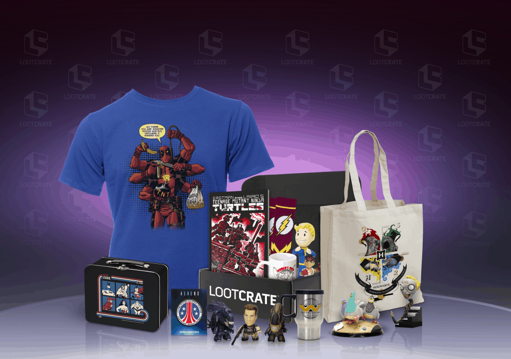 Lootcrate Holiday Option