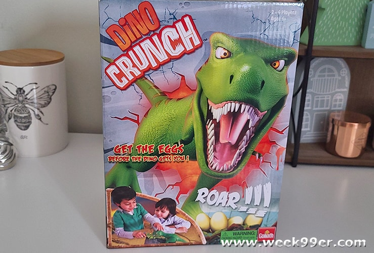 dino crunch game review