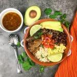 Easy Instant Pot Carnitas Bowls