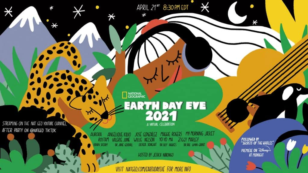 Celebrate Earth Day Virtually with National Geographic