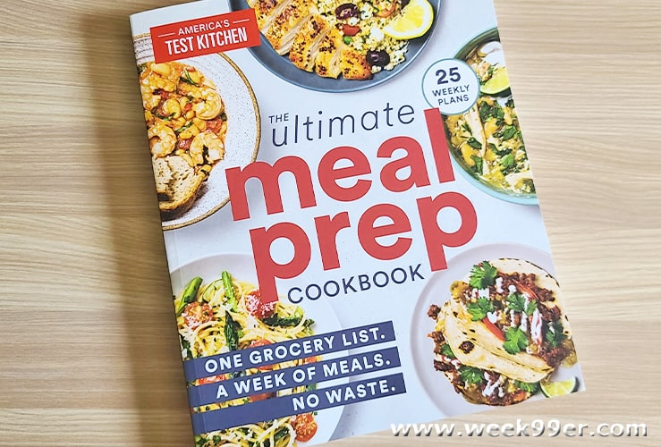 Ultimate meal prep cookbook review