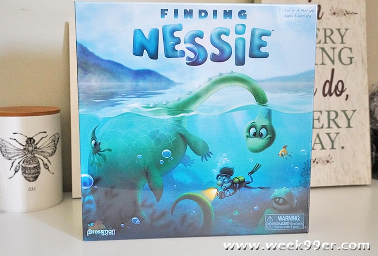 Finding Nessie Board Game Review