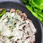 Low Carb Cheesesteak Wraps Recipe