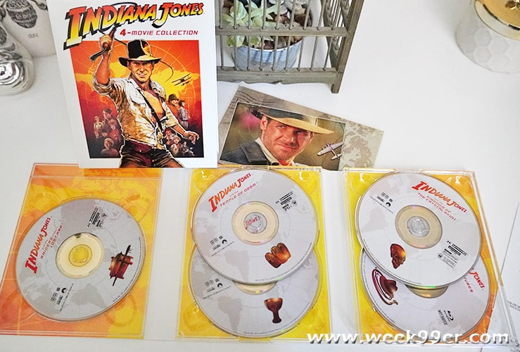 Indiana Jones 4 Movie Collection Review