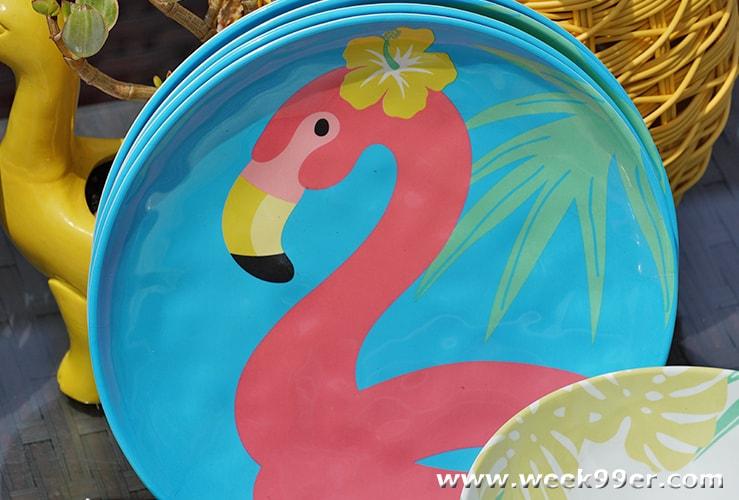 Zak! Designs Flamingo plate review