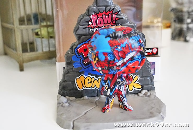 Funko Pop! Deluxe: Marvel Street Art Collection Stan Lee Review