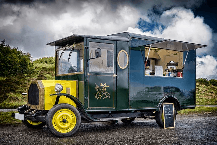 Renting A Coffee & Food Van For Your Event