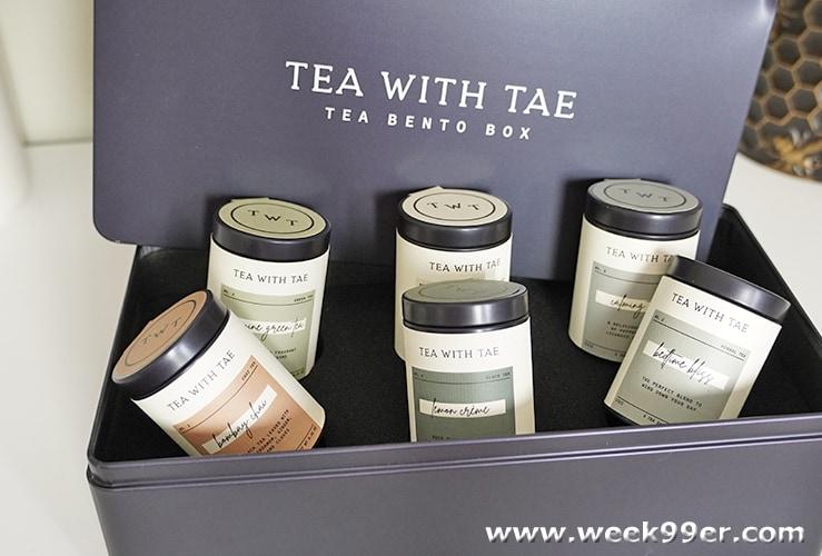 Tea with Tae Bento Box Review