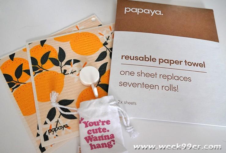 Papaya Reusable Paper Towel Review