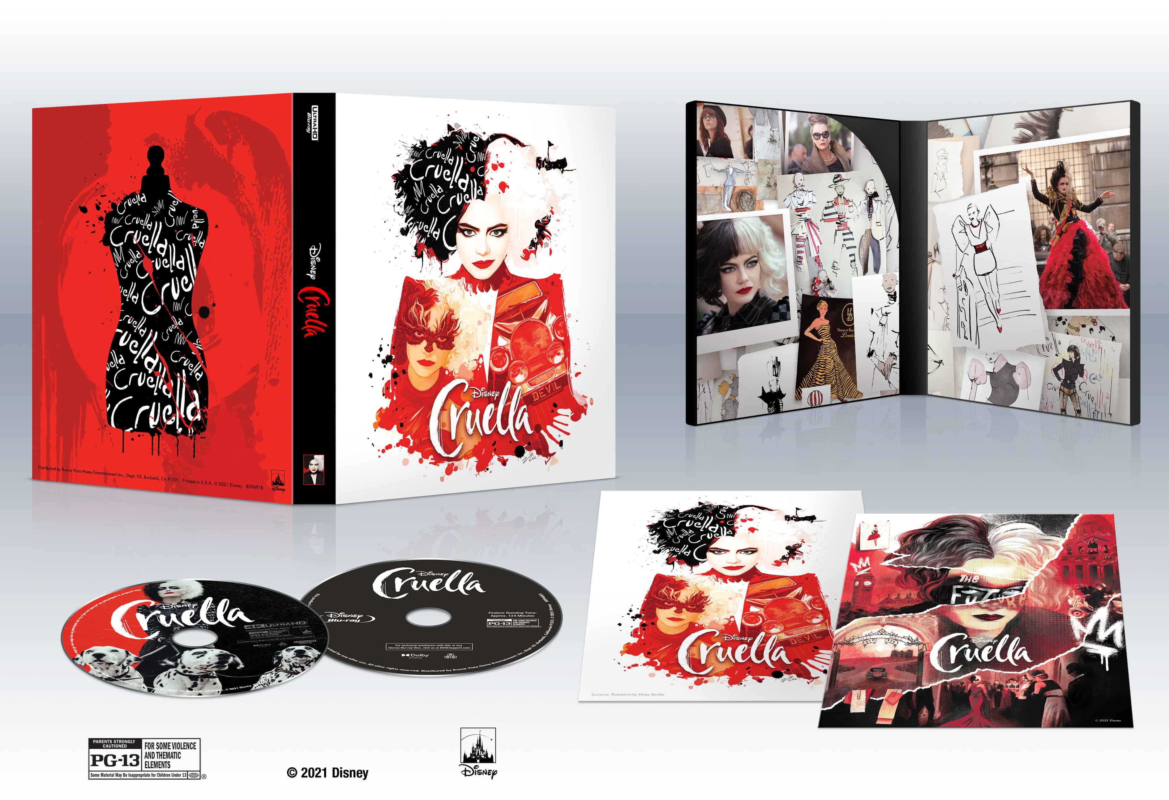 Pre-Order the 4K Ultra HD Collection of Cruella Now